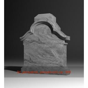 Купить резная гранитная подставка под крест (100х80х20)